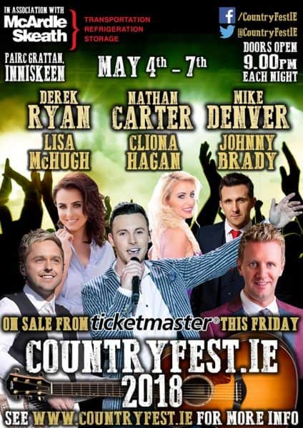 Country Fest 2018 – May 4th – 7th